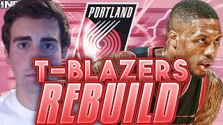 EVERY STARTER OVER 85 OVERALL!?! REBUILDING THE T-BLAZERS!!! NBA 2K17 MY LEAGUE!!