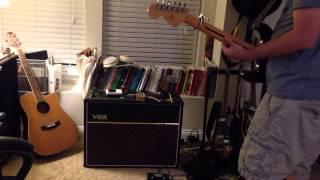 Catalinbread Echorec Mode 3 thru Vox AC-15 - U2/The Edge Tones