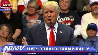 FNN: FULL Donald Trump Rally - Pensacola, Florida 1-13-16