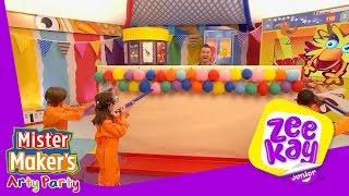 Pop Till You Drop | Mister Maker's Arty Party | ZeeKay Junior