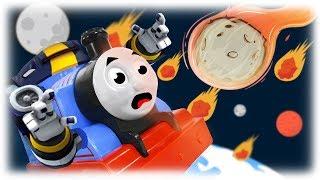 Train Thomas to the Rescue - Meteor Falling Episode 2