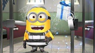 Despicable Me - Minion Rush : Prisoner Minion Got Stage 1 Reward In Minion Break !