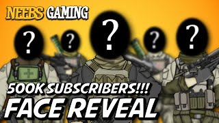 500,000 Subscriber Face Reveal