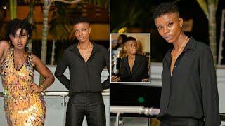 Ebony Lesbian's Partner was Popular Lesbian in Ghana.We Have the video prov