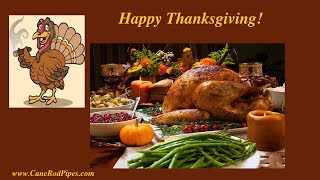 Best Wishes for a Happy Thanksgiving!  Weekend Chat 18 Nov 2018