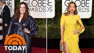 2016 Golden Globes Best-Dressed On The Red Carpet | TODAY