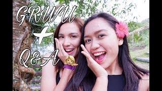 GET READY WITH US(KYLINE ALCANTARA) + Q&A! | Hanna Rioteta | Philippines