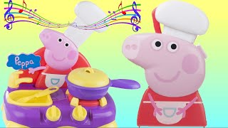 Peppa Pig Sing-Along Kitchen Playset, Table Top, Playdoh Cooking Disney Elsa, Spiderman IRL / TUYC