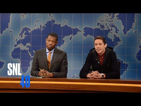 Xxx Mp4 Weekend Update Pete Davidson Talks Business Saturday Night Live 3gp Sex