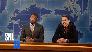 Weekend Update: Pete Davidson Talks Business | Saturday Night Live