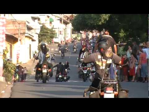Usulután Desfile del correo Inicio de Fiestas Patronales 2009