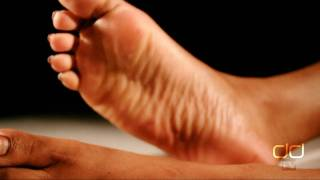 Darla TV - Darla's Sexy Toe Tease and Foot Massage (Close up with French Pedicure)