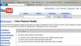 Watch You Tube Video in High Quality