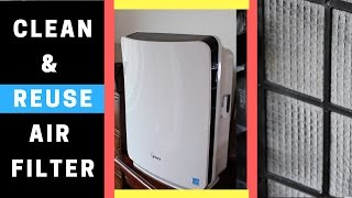 Air Purifier with Washable Filter | Tips on How to Clean Reusable Air Filter