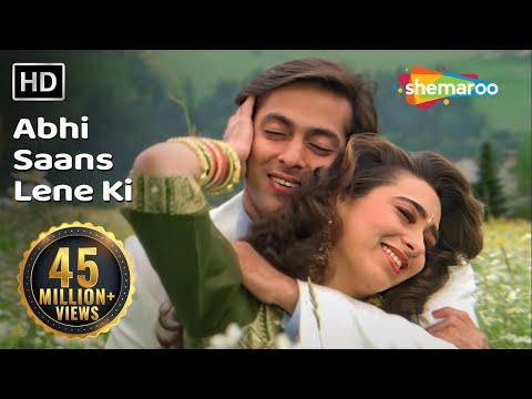 Xxx Mp4 Abhi Saans Lene Ki Fursat Nahin Hai Jeet Songs Salman Khan Karisma Kapoor 90 39 S Romantic Song 3gp Sex