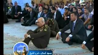 الرئيس السيسي يحضر شعائر صلاة الجمعة بمسجد السلام بمدينة شرم الشيخ 25-3-2016