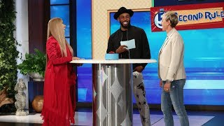 Ellen and Cardi B Play '5 Second Rule'