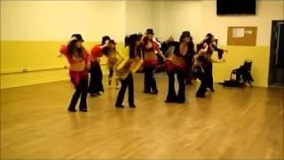 آموزش رقص ساقدوشان عروس با آهنگ ای جونم سامی بیگی