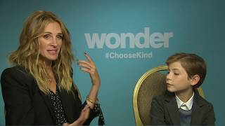 WONDER Interview: Julia Roberts and Jacob Tremblay