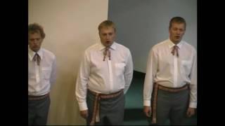 Latvian Methodist Youth Choir -  Svēts Ir, Svēts Ir (Holy, Holy, Holy)
