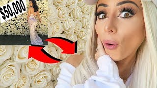HOW TO MAKE A CELEBRITY FLOWER WALL *for cheap!*
