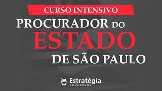PGE-SP | Direito Processual Civil - Prof. Rodrigo Vaslin - Ao vivo