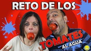 RETO DE LOS TOMATES AL AGUA!!! Pick up Tomatoes Challenge!! Reto acuatico