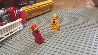 Flash Vs Reverse Flash in LEGO