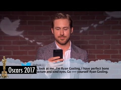Download Mean Tweets 2017 Oscars Edition featuring Ryan Gosling and Emma Stone from La La Land