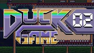 DUCK GAME w/ PokeaimMD, Blunder, Shizzy & steve!