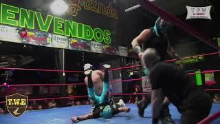 2da Lucha Alkimista, Black Eder VS Guerrero Aquiles, Misionero de la Muerte