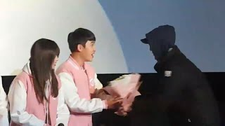 160301 exo sehun surprise do at pure love stage greetings