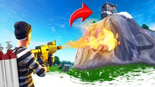 MELTING ALL The ICE In Fortnite! (Battle Royale)