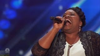 America's Got Talent 2016 Moya Angela Absolutely Crushes Celine Dion Song Full Audition Clip S11E
