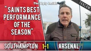 Saints best performance of the season | Southampton 1-1 Arsenal | The Ugly Inside