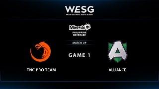 WESG 2017 | TNC Pro Team vs Alliance | Game 1