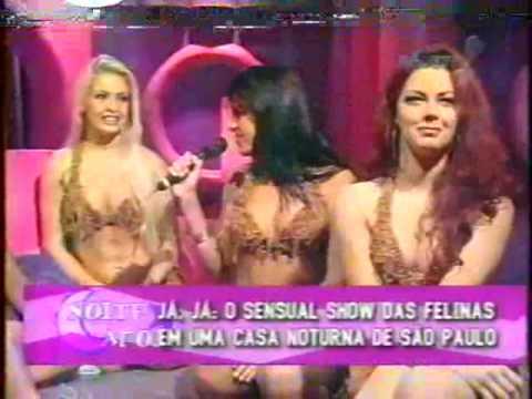 As Felinas 2001 no Noite Afora com a Monique Evans
