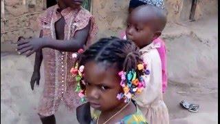 Obubra little girls dancing from cross river state, Nigeria