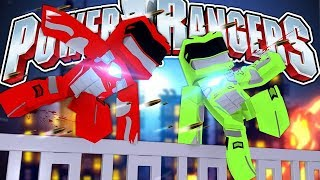 POWER RANGERS - THE GREAT ESCAPE!!!