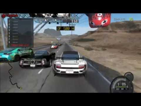 Need For Speed Prostreet Nevada Highway Speed Challenge Gameplay PC