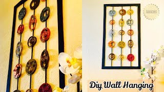 Wall Hanging Ideas DIY | Newspaper Wall Hanging | Craft Ideas for Home Decor | Wall Hanging Crafts
