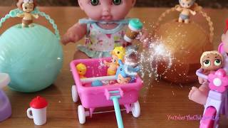 New Born Baby Doll Blind Bags Little baby dolls and Nursery Toys Play