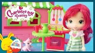 Charlotte aux fraises en francais - Jouet pour enfants - Titounis