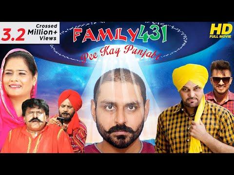 FAMILY 431 {HD} | Pee kay Punjabi | Gurchet Chitarkar (Full Movie) - New Punjabi Comedy Movie 2017
