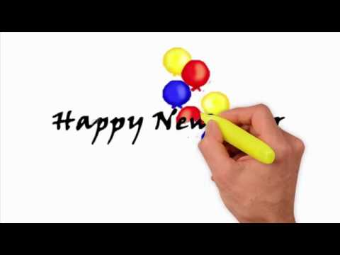 Xxx Mp4 How To Draw Happy New Year How To Draw Happy New Year 2018 3gp Sex