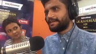Shwetha Jonitha And Alphons in Club FM