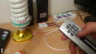 طريقة تشغيل الاجهزة الكهربائية في المنزل عن طريق الوايرليس