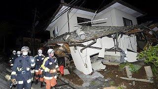 Földrengések pusztítottak Japán déli részén