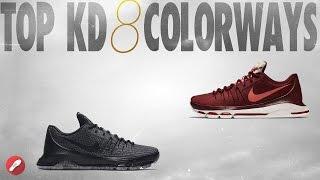 Top 10 Kd 8 Colorways!
