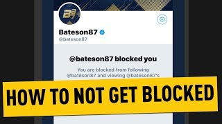 How To Not Get Blocked By Bateson
